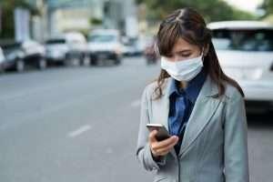 medición de la polución con redes 5G