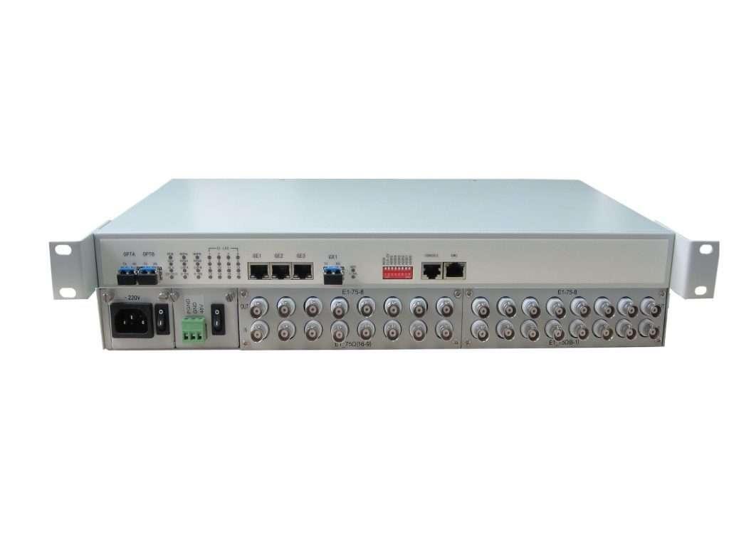 Interfaces de usuario en radioenlaces de microondas.