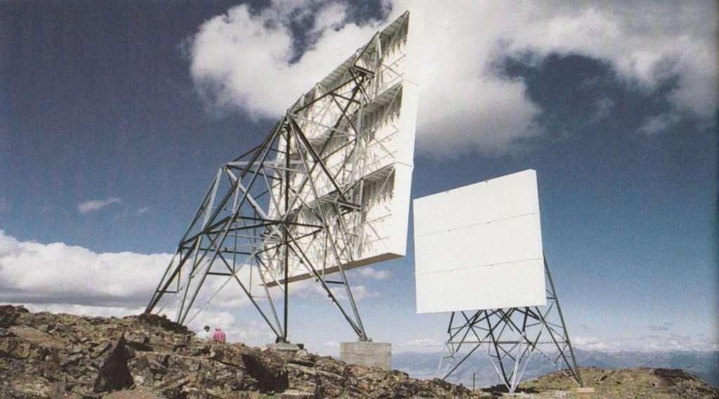 Reflectores pasivos para radioenlaces de microondas
