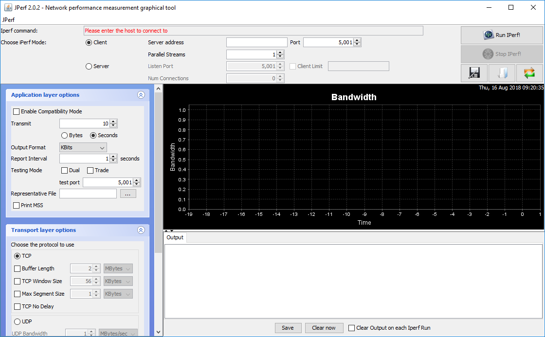 ▷ Descarga Jperf 2 0 2: Medidor de capacidad de tráfico de red