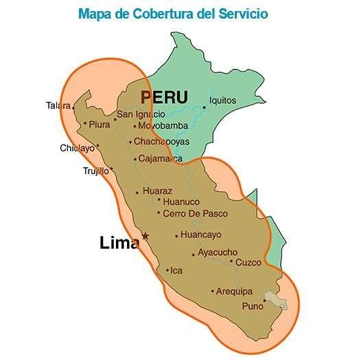 Perú Hughes Network proveerá Internet, pretende competir con los operadores actuales a través de un servivvo satelital de Internet.